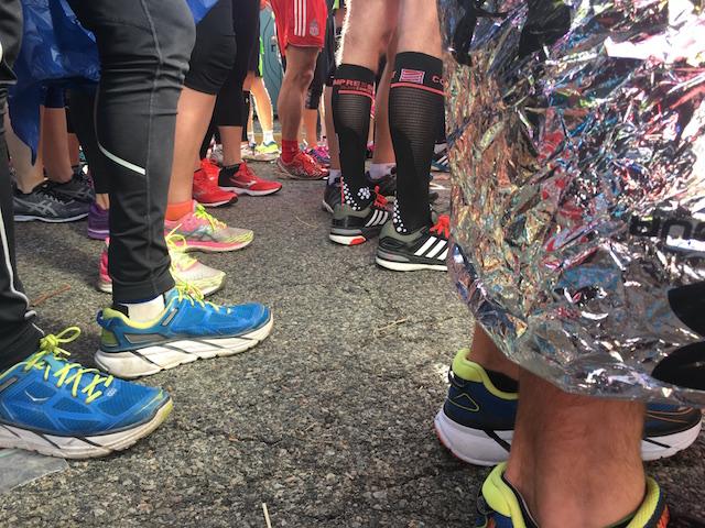 Starting line of the NYC Marathon
