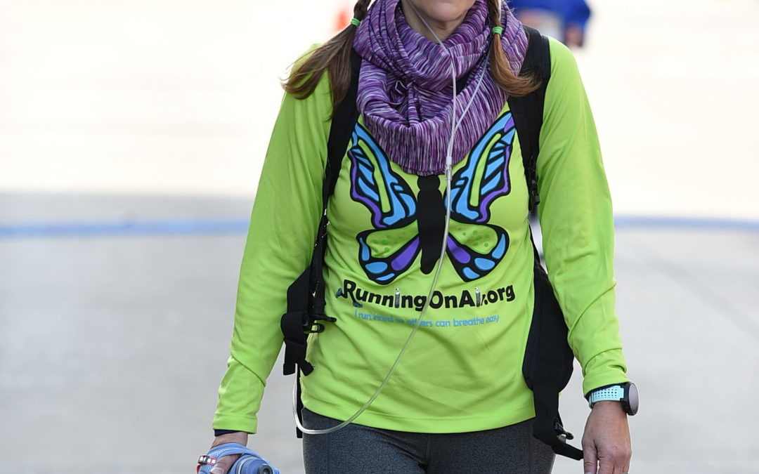 Woman With Portable Oxygen Runs NYC Marathon