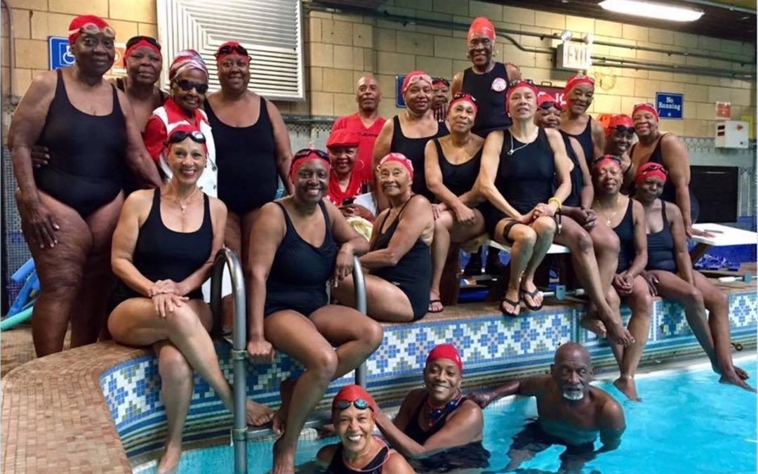 A Wave of Senior Swimmers Find Healing Under Water