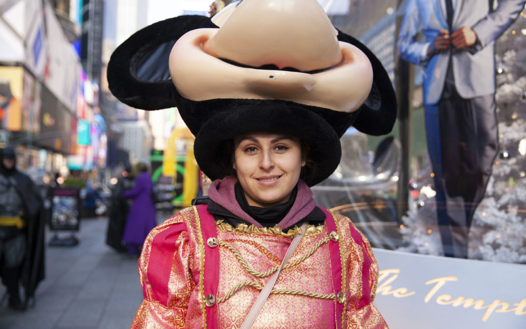 A Sense of Community Strengthens Times Square Characters