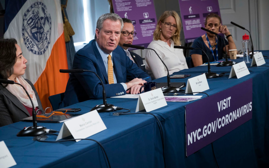 De Blasio Declares State of Emergency for NYC, Warns Things Will Get Worse