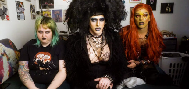 """Digital Drag"" cast members"
