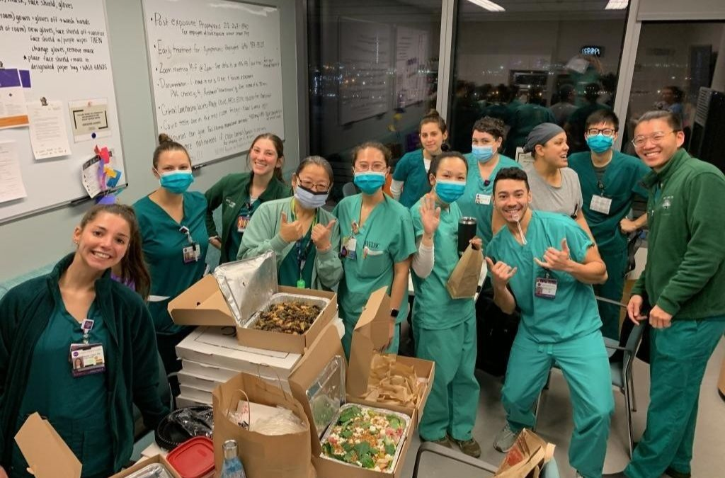 SoHo Restaurant Donates 10,000 Meals to Hospital Staff