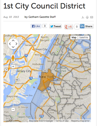 Gotham Votes 2013: City Council Maps
