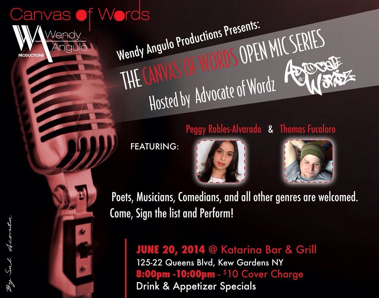 'Canvas of Words' Open Mic Series Aims to Foster Community For Queens Artists