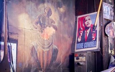 Bronx Cowbell King – by Gabriela Sierra Alonso