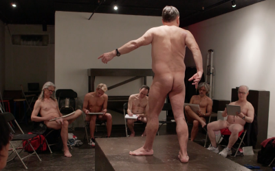 Shungaboy: a nude artist and his men's naked drawing group