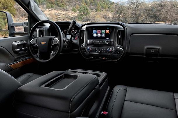 2015 Chevrolet Silverado - Interior