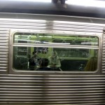 """""""It isn't pretty to look at, it's decrepit,"""" said Theresa Vouclais, a daily C Train rider. (Nicholas Rizzi/CUNY)"""