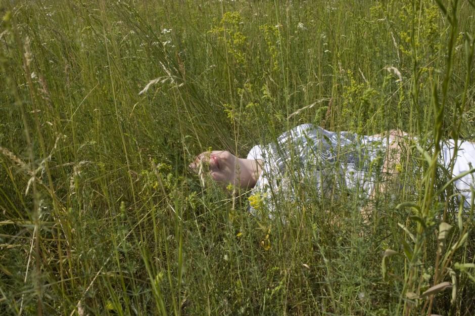 Katya is never leaving this field