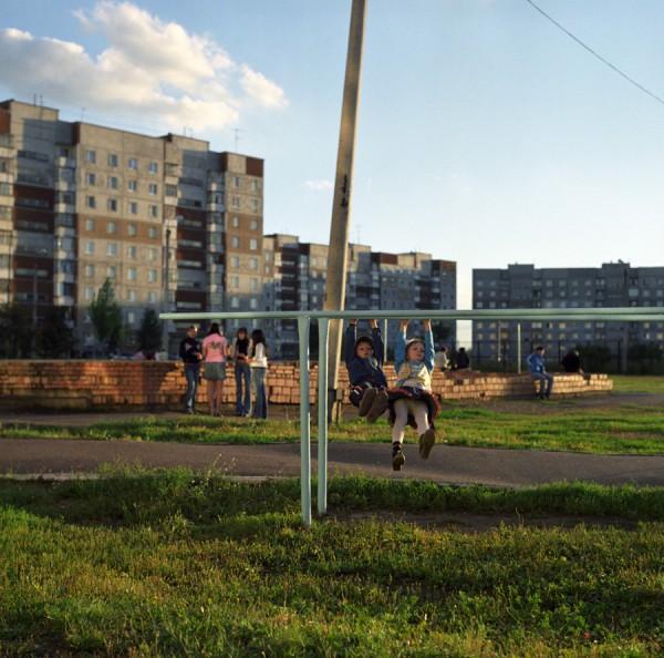 Shaksha playground, Ufa, Russia