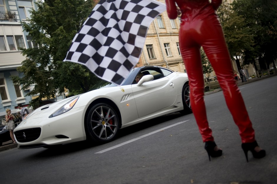 Ferrari opening, Kyiv, 2011