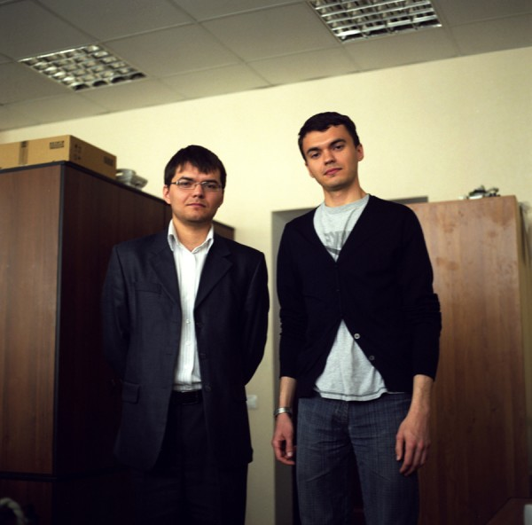 Pavel and Ighor, Ufa, Russia