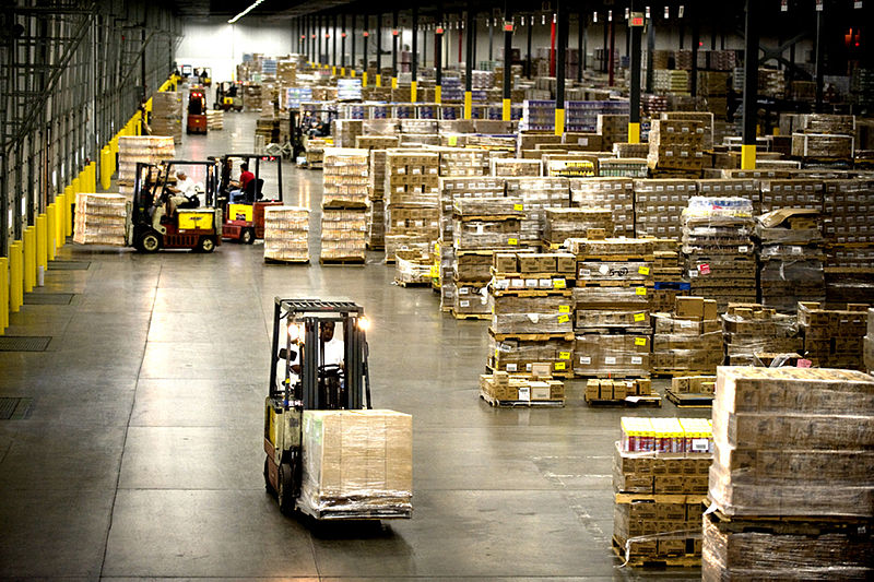 Amazon's warehouses capitalize on depressed areas to attract low-wage workers