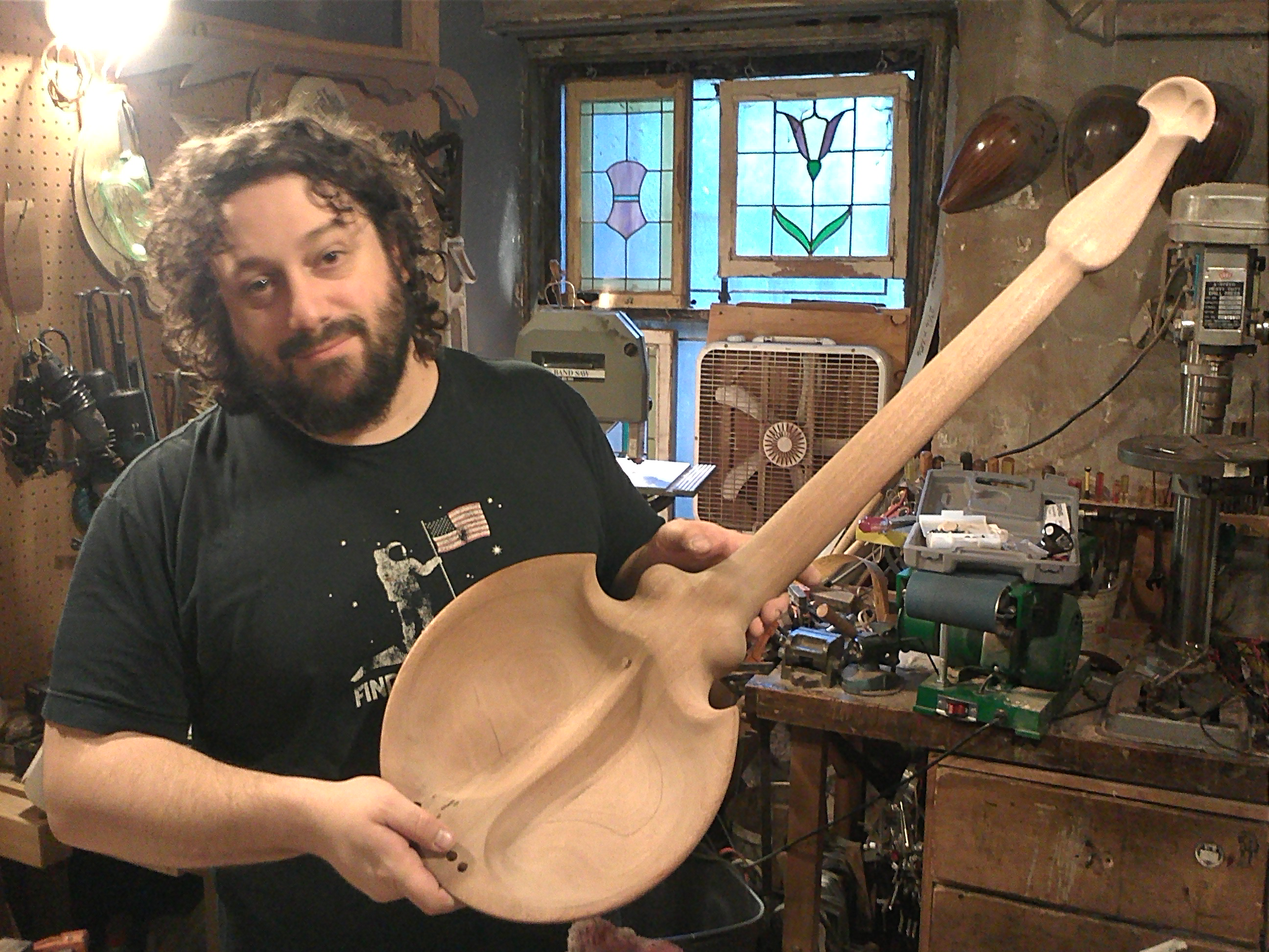 Established Store Owner Invents New Instrument