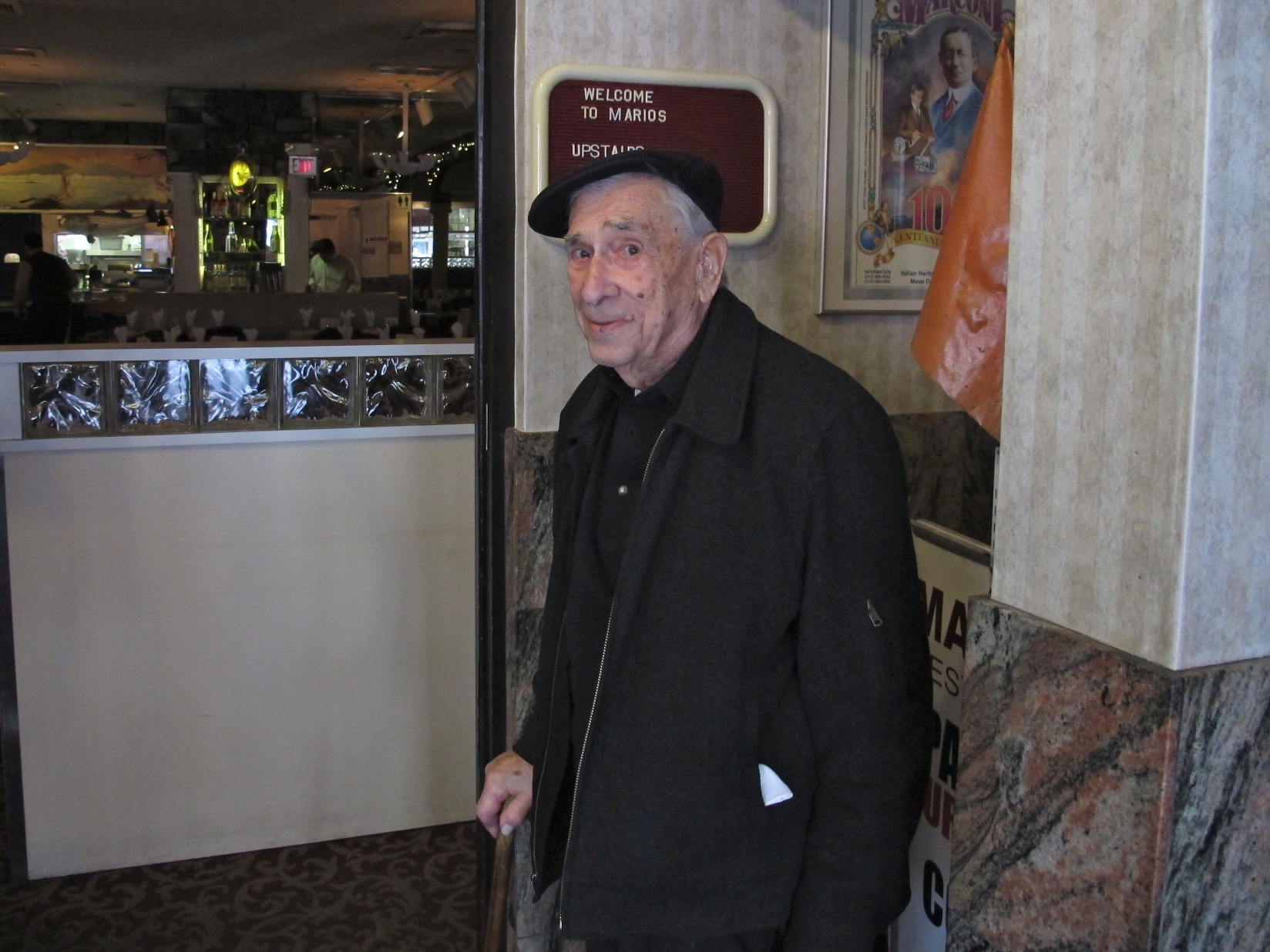 Bronx resident Joe Binder, 101 years old and charging ahead to 102
