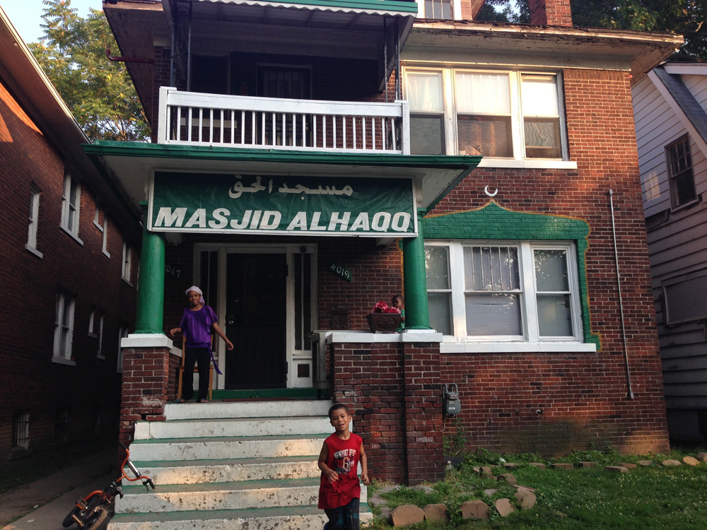 Masjid Al-Haq has been at this new location since 2008. Imam Luqman was killed just one year after the move.