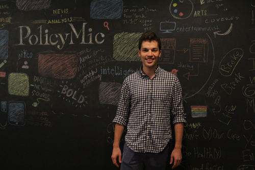 Jake Horowitz is the co-founder of PolicyMic, an online publishing startup that reports news for millenials. He wants the next mayor to continue greening the city as Bloomberg has done for the past 12 years.