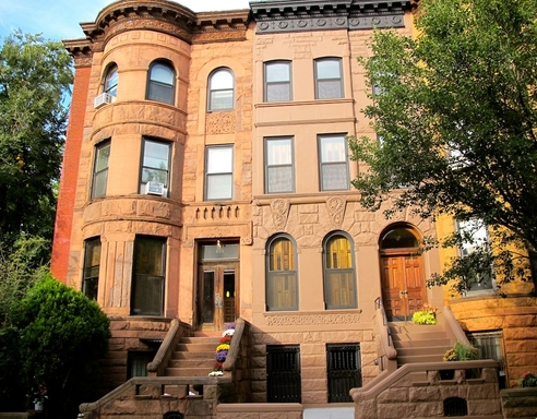 Park Slope is known for its picturesque brownstones. (Photo by Linda Villarosa)