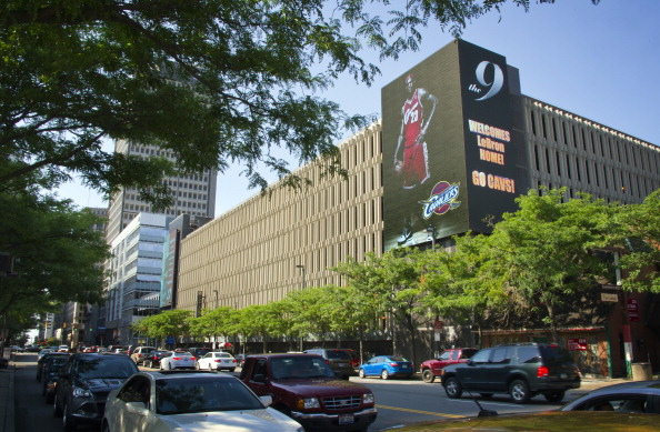 Cleveland Celebrates Word of Lebron James Coming Home