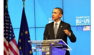 President Obama at EU-US Summit
