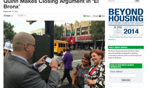 SPOT REPORTING: Quinn Makes Closing Argument in 'El Bronx""