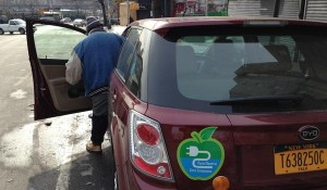 TRANSPORTATION FEATURE: Only Two Electric-Cab Drivers On the Road in NYC