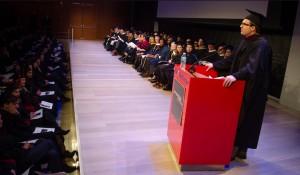 SPEAKING / DIRECTING: Graduation speech and music video