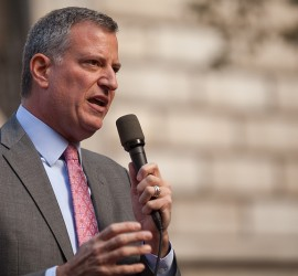 Mayor-Elect Bill de Blasio