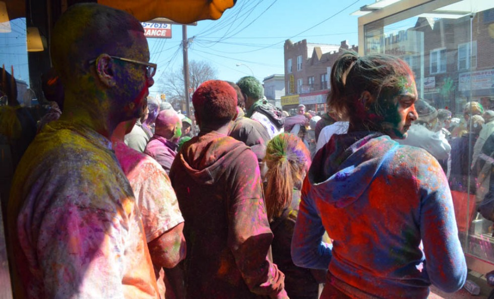 Holi at Richmond Hill, Queens
