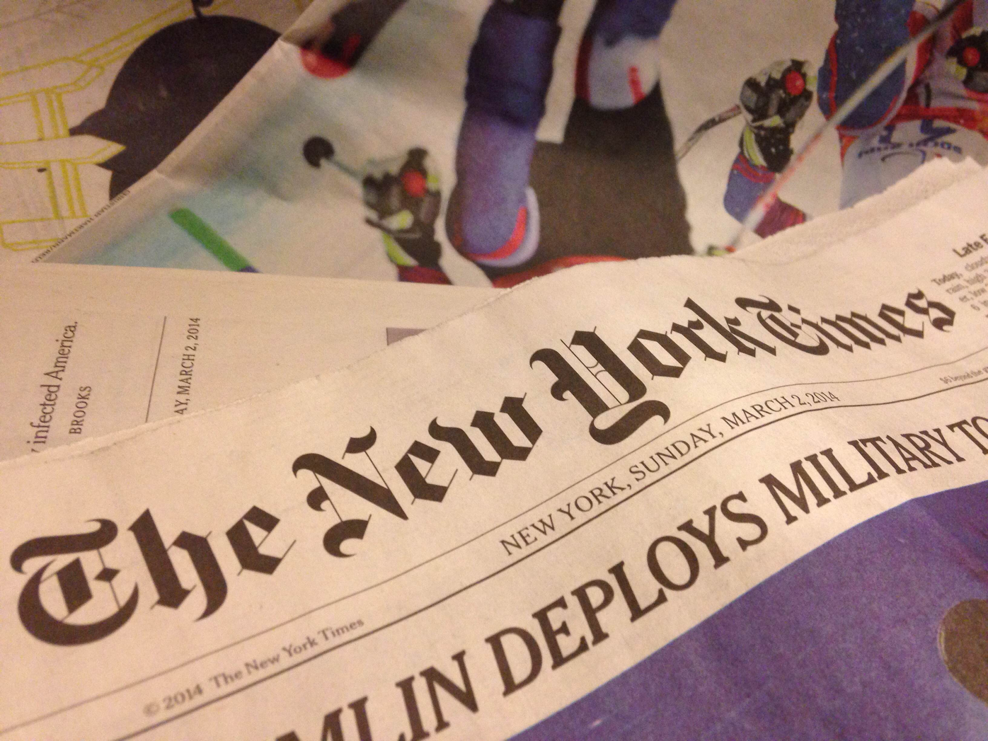 New York Times to pay academic interns minimum wage
