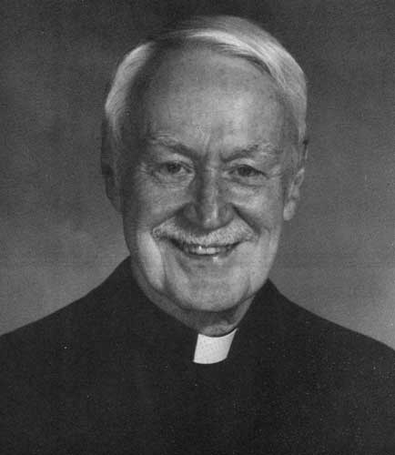 Msgr. Gerald Ryan in a photograph from The History of St. Luke's Parish, published in 1997.