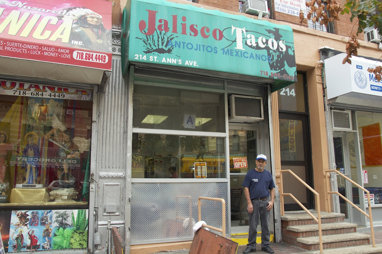 Rodolfo Munoz, owner of Jalisco Tacos on 138th St., said his was the first taqueria when it opened in the 1980s.