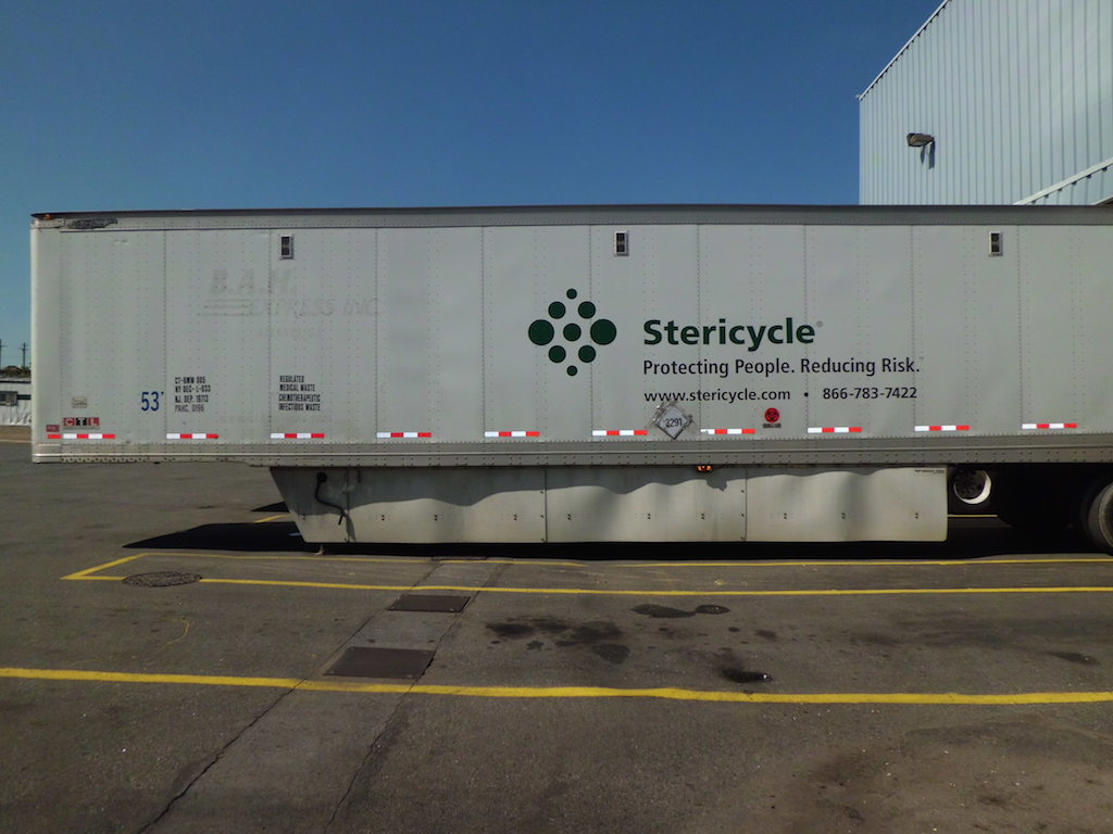 Stericycle's waste management transfer facility has drawn harsh rebukes from residents, activists and public officials..