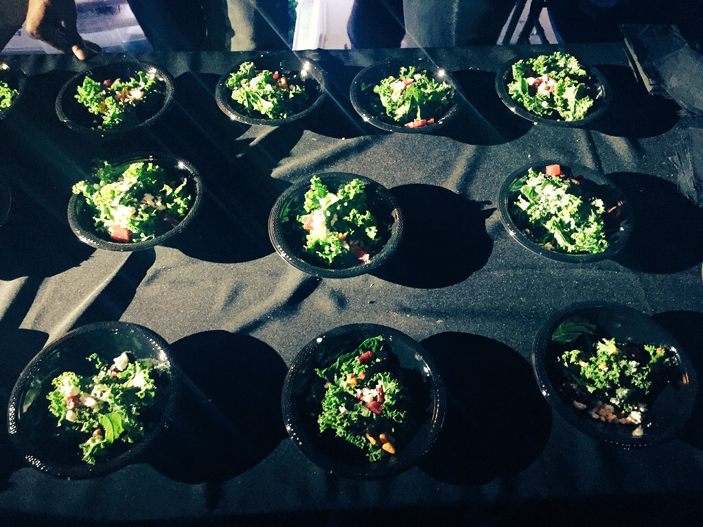 The Bronx Salad will be available at area restaurants early next year.