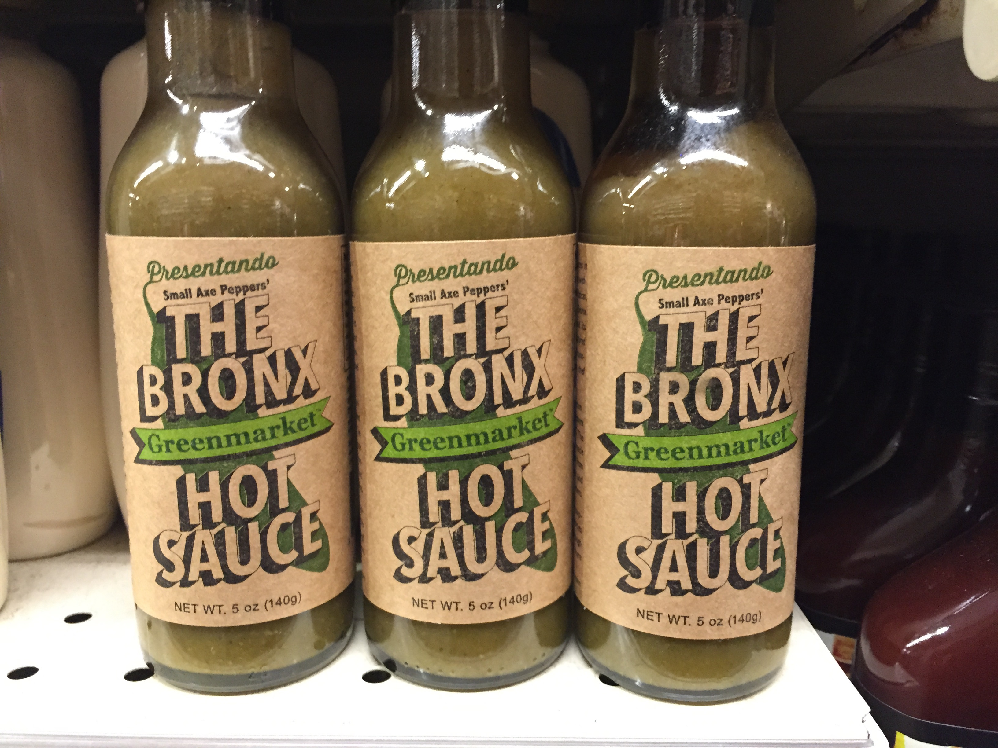 The Bronx Hot Sauce.