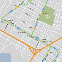 New York Restoration Project. A free shuttle bus will make a loop between the Hub and the Randall's Island Connector in Port Morris.