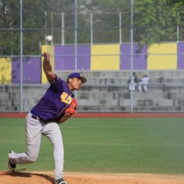 South Bronx HS pitcher Justin Almonte. Photo: Josh Eisenberg