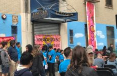 Students at Upbeat NYC wait to perform. Photo: Carmen Rios-Nuñez