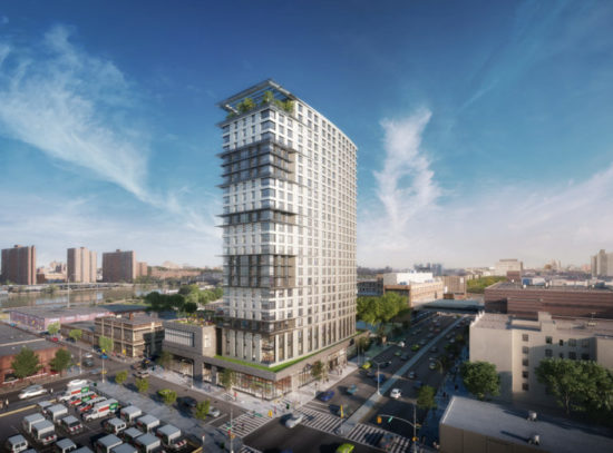 Board 1 narrowly approves residential tower on Concourse