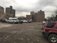 The parking lot at the corner of East 142nd Street and St. Ann's Avenue.