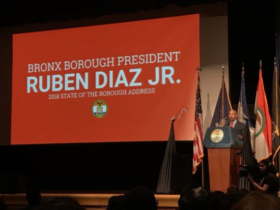 Diaz Jr. hammers mayor at State of the Borough