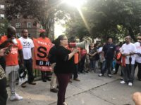 Councilwoman Diana Ayala addresses an anti-gun violence rally at Patterson Houses on June Photo: Deborah Cruz