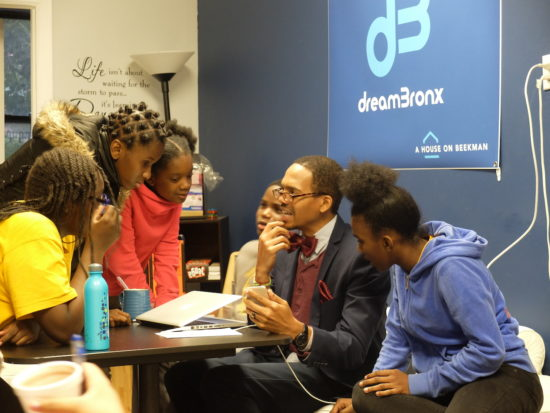 dreamBronx's middle school program invests in students' futures