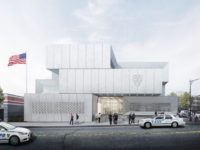 A rendering of the new station house at E. 149th Street and St. Ann's Avenue.