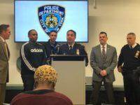 Deputy Inspector Brian Hennessy announces Photo: Rachel Rippetoe