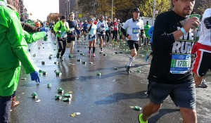 A Class Act of NYC Marathon Volunteers