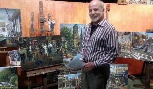 Medium: Bronx Painter Unites Borough's Artists