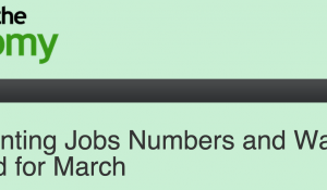 CUNY on the Economy: March Jobs Preview