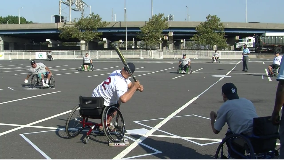 Softball On Wheels At Citi Field New York City News Service